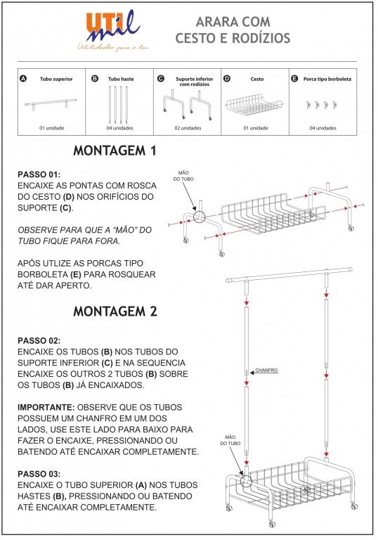 Instruções de Montagem