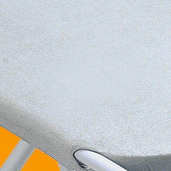 Forro em tecido metalizado absorve menos sujeira e o ferro de passar desliza melhor